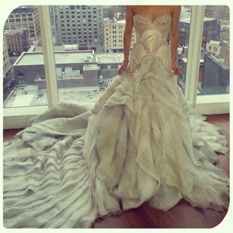 My JAton Couture Wedding Gown Across 5 Continents and Counting