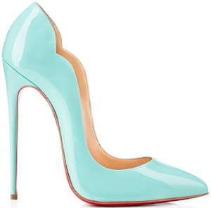 christian louboutin hot chick blue