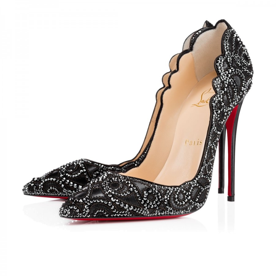 Dreaming of Christian Louboutin Top Vague 120mm Hematite Heels
