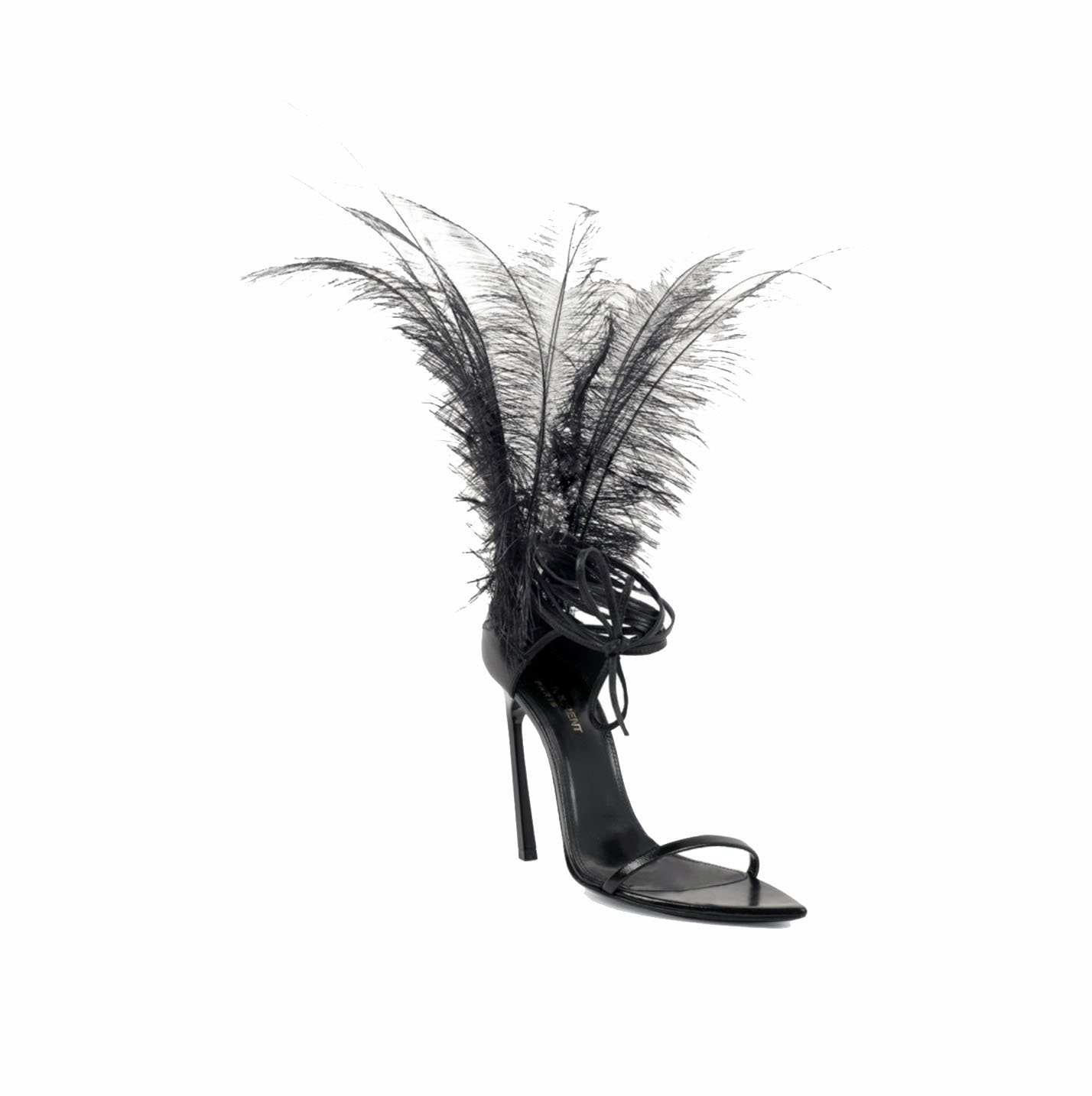 What The Feather?! Saint Laurent Talitha Feather Heels | Review